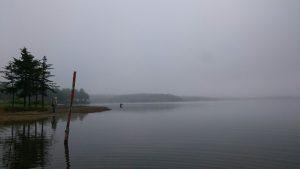 最終日の朝からボート乗り場付近で釣ったメンバーがいましたが何も無かったそうです。